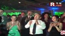 Traian Băsescu şi Dorin Chirtoacă au cântat cântece patriotice!