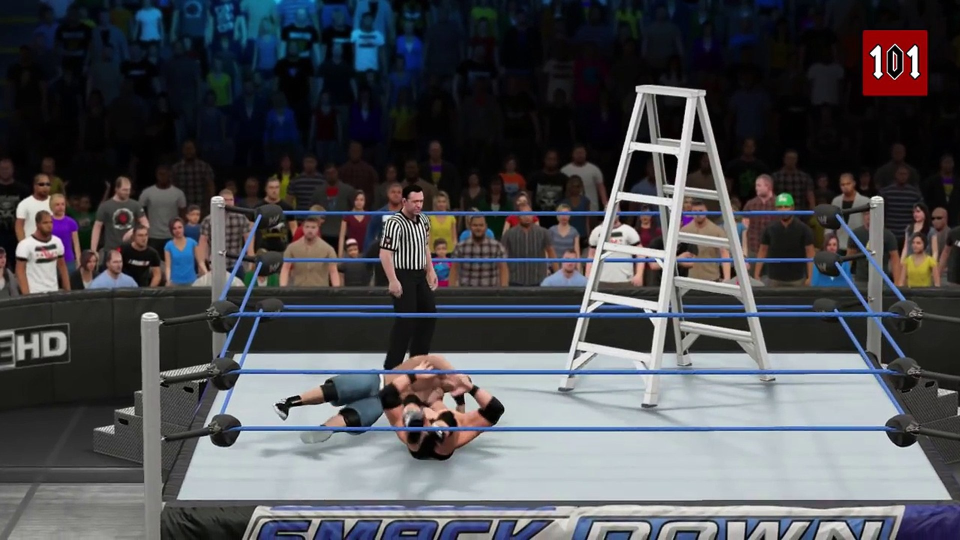 WWE 2K15 - Top 10 High Flying Ladder Moves! [WWE 2K15 Countdown]
