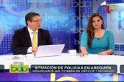 """[BDP] Pérez Rocha: """"Arana debe ser detenido, tendría que darse estado de emergencia en Arequipa"""""""
