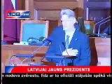 Valda Zatlera prezidenta zvērests