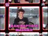 Une interview de Jean-Baptiste Maunier du 24 Mars 2007
