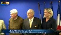 Front national guerre ouverte entre Marine et Jean-Marie Le Pen