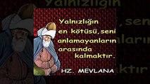 Hz Mevlana Celaleddin Rumi nin Muhtesem Sözleri 160 Adet 2014