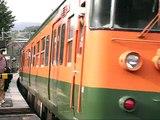 今は無き御殿場線115系 谷峨駅交換 【JR 115 series on Gotemba Line】