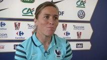foot - Coupe du Monde (F) : Abily «Les médias et les supporters s'intéressent plus au foot féminin»