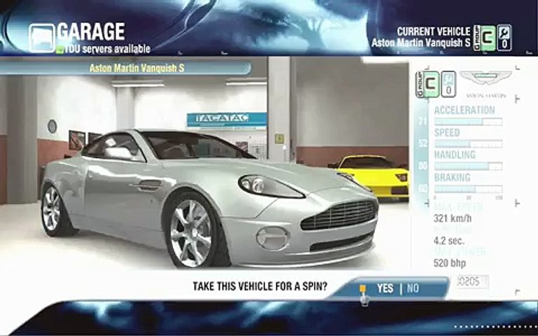 Test Drive Unlimited Aston Martin Vanquish S Mokule Ia Peak Descent Video Dailymotion