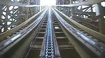 Troy Wooden Roller Coaster Front Seat POV Onride Great Coasters Toverland Netherlands