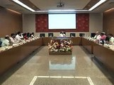 Gandhinagar Cleanliness related Meeting with minister Nitin Patel