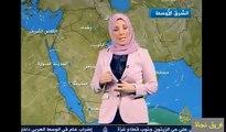 ( قناة نجاة ) النشرة الجوية  - قناة الجزيرة- 11-12- 2011