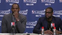 LeBron James, Dwyane Wade Game 5 Post Game Interview [5.15.2013] (Heat Advance to Conference Finals)