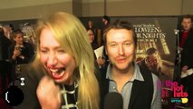 Maude Garrett freaks out after seeing Chucky mid interview with Leigh Whannell (Saw, Insidious)