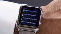 Mercedes-Benz Demonstration of the Mercedes-Benz Door-to-Door Navigation with Apple Watch