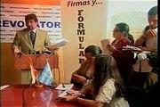 Carlos Vera FRACASA en la recolección de Firmas!