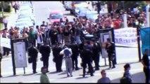 Université Toulouse Mirail - Evactuation étudiants en lutte par CRS - 04 juin 2009