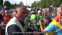 Giro d'Italia 2015 Stage 10: Nicola Boem post race interview