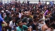 Ασία: Επείγουσα έκκληση του ΟΗΕ για τη σωτηρία χιλιάδων μεταναστών από τη θάλασσα