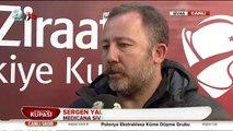 Sergen Yalçın'ın Maç Sonu Hakemlere Attığı Açıklamalar