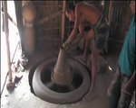 A potter of Bangladesh never potters