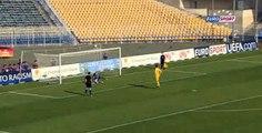 Luca Zidane Fail Panenka Penalty - France U17 vs Belgium U17 19.05.2015