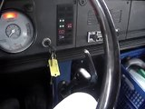 Starten van een OM314 motor Mercedes Benz LP serie.