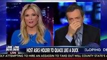 Fox Megyn Kelly Mocks MSNBC's Harris Perry for Eric Holder Duck Quack Request