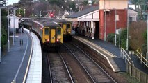 Northern Ireland Railways - Failed DEMU 8451 Belfast Castle - Whitehead