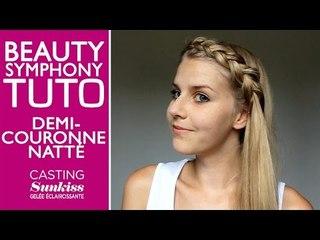 Demi-couronne nattée by BeautySymphony