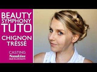 Chignon tressé by BeautySymphony