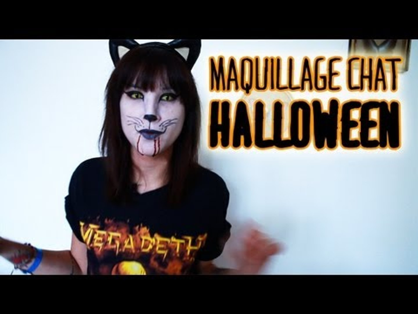 Maquillage Facile Halloween Chat Diable Video Dailymotion