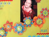 Scrapbook.TV - How to Make 3-Dimensional Flowers