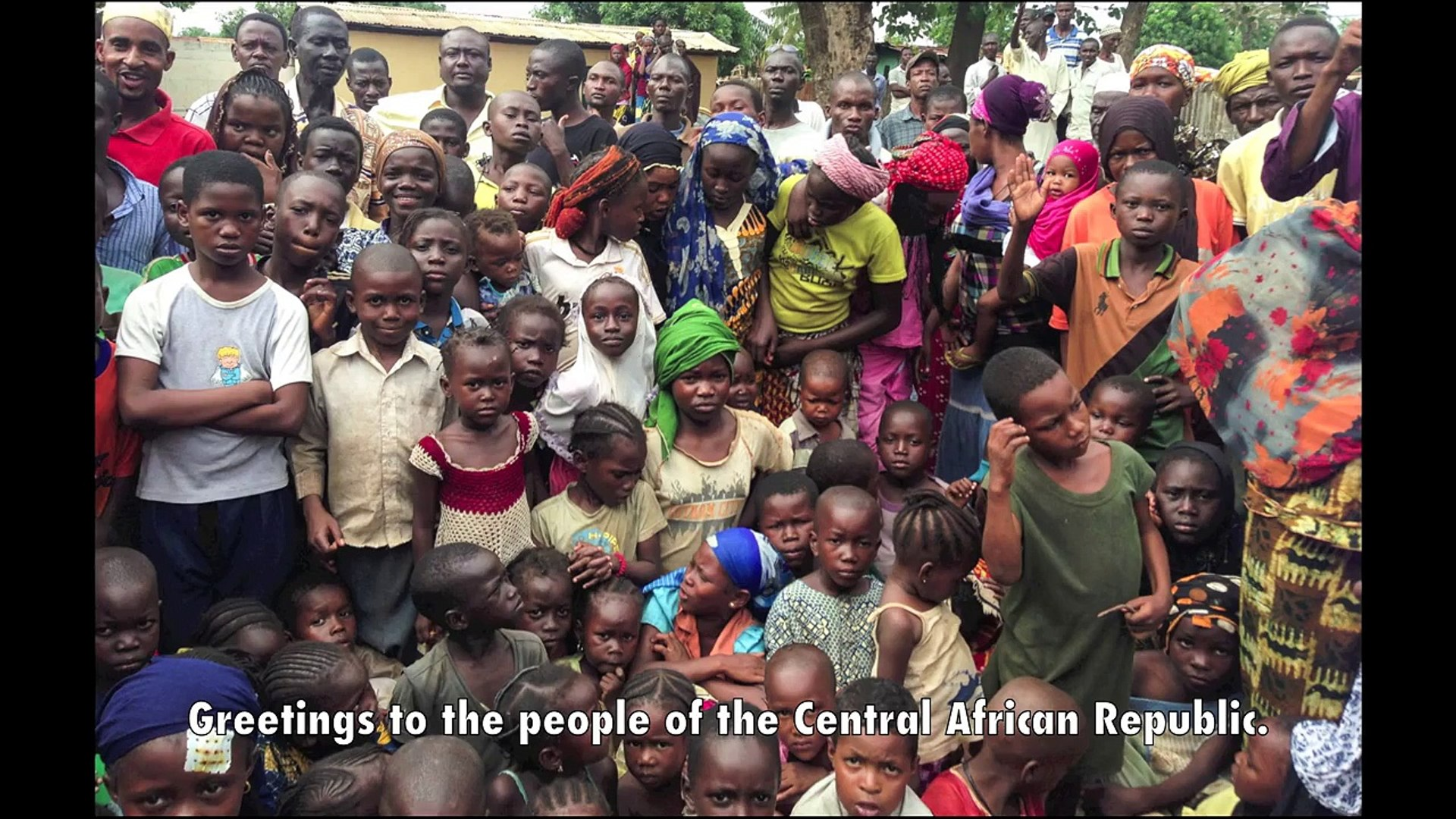The Secretary-General's message to the people of the Central African Republic