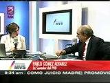 Debate entre Pablo Gómez del PRD y Lerdo de Tejada del PRI sobre calificación de la elección