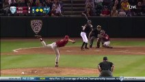 Baseball Batter Hit By Pitch Catches Ball, Throws It Back To Pitcher
