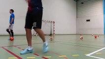 Reprise de l'entraînement au Celta Club Futsal - Spécifique gardien