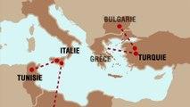 Décryptage - Migrations – La Méditerranée, un cimetière de 2,5 millions de km2