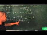 483 / Equations de droites - Systèmes linéaires / Résoudre un système d'équation (3)