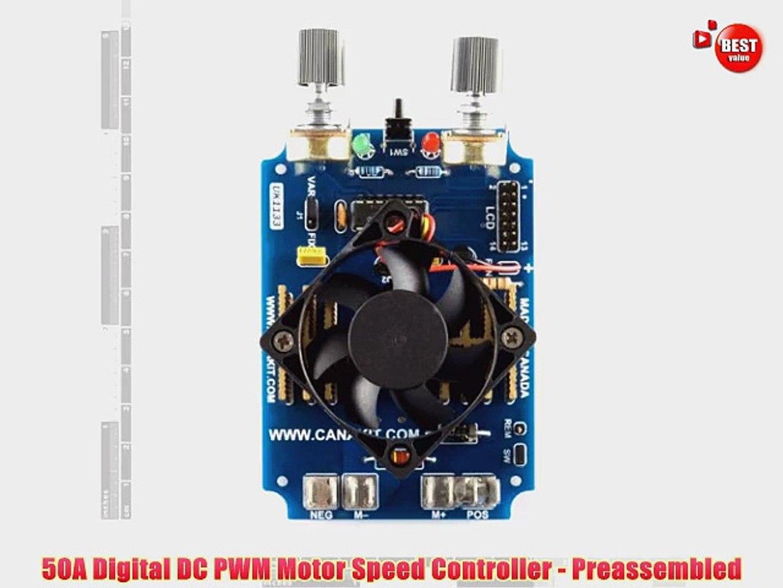 R DC 12V-36V 5A Motor Speed Control PWM Controller SODIAL