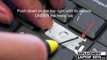 Acer laptop keyboard key installation guide | How to repair laptop keyboard keys