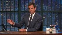 Seth Meyers se souvient de David Letterman