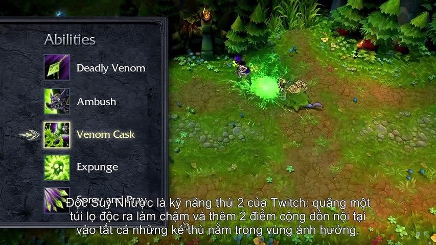 Tiêu điểm tướng Twitch Chuột Thành Tinh