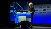 """Theresa May: Police Federation is """"scaremongering"""" over cuts"""