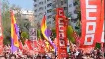 Manifestacion contra la reforma laboral 29-Marzo-2012 ( sonido real ).wmv