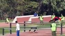 Copa América : L'entraînement militaire des joueurs du Chili