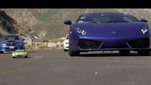 RC (Remote Control) Drift Car VS Lamborghini Gallardo - Who do you think will WIN
