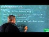 ACS / Inéquations - Systèmes d'équations / Systèmes de deux équations