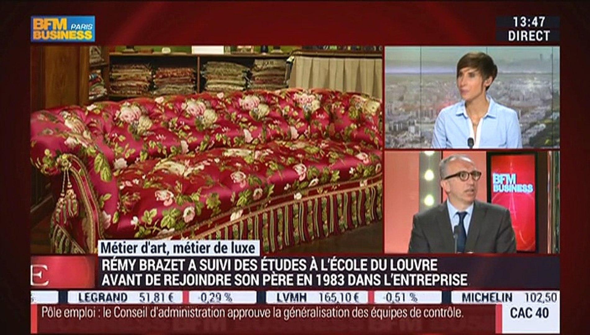 Tapissier Paris 20 métiers d'art, métiers de luxe: tapissier, rémy brazet – 20/05