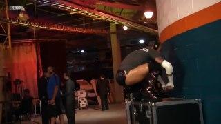 CM Punk backstage prepares for Wrestlemania XVIII Match agai
