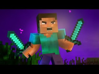 """♫ """"Face The Mob"""" - An Original Minecraft Rap Song Animation (Music Video)"""