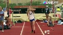 Une athlète de 17 ans aveugle passe 3m50 en saut à la perche