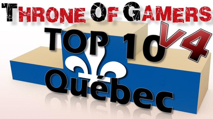 TOP 10 Gamers Québécois : Les youtubers outre-altantiques !